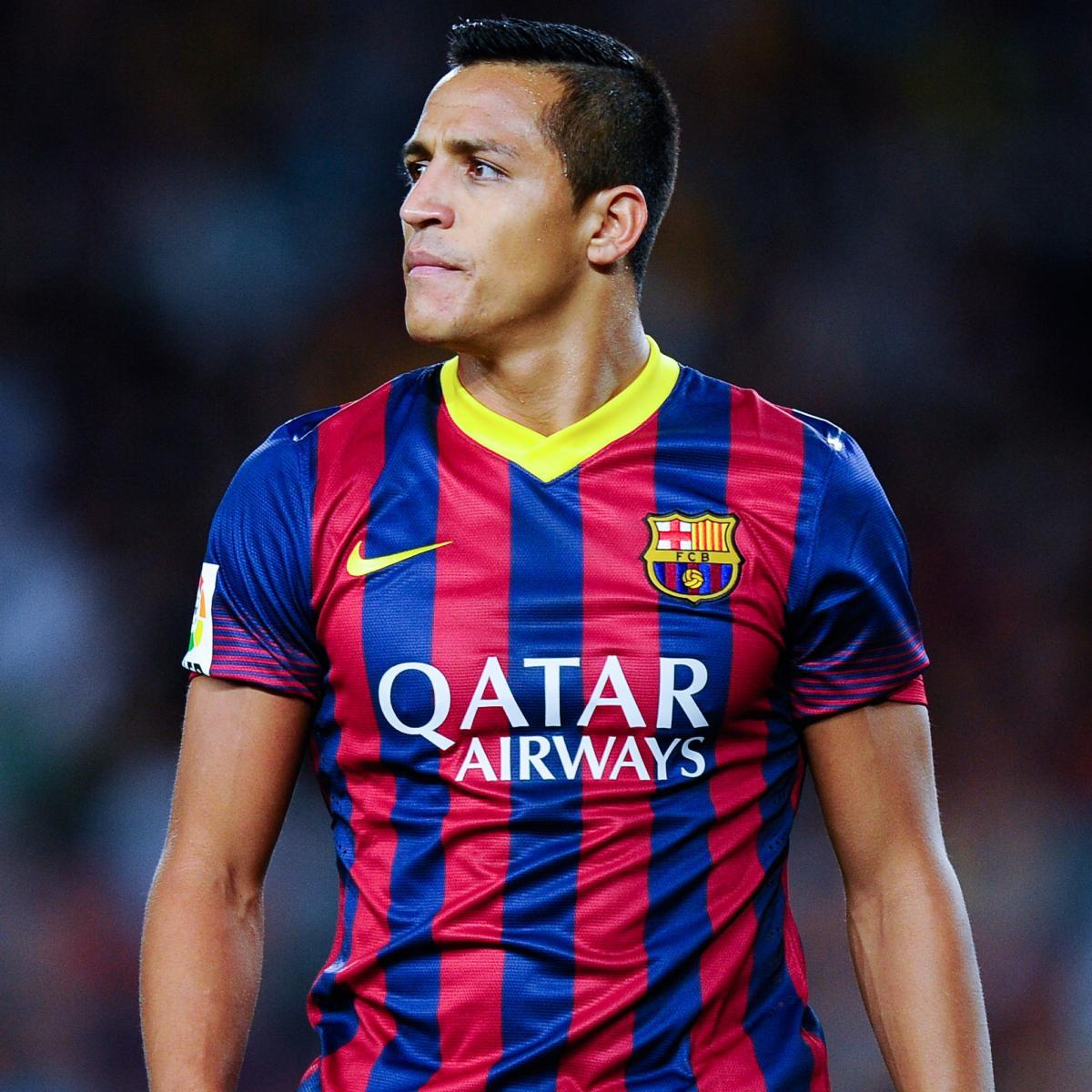 Manchester United Transfer News Alexis Sanchez Rumours: Alexis Sanchez Happy At Barcelona Amid Manchester United