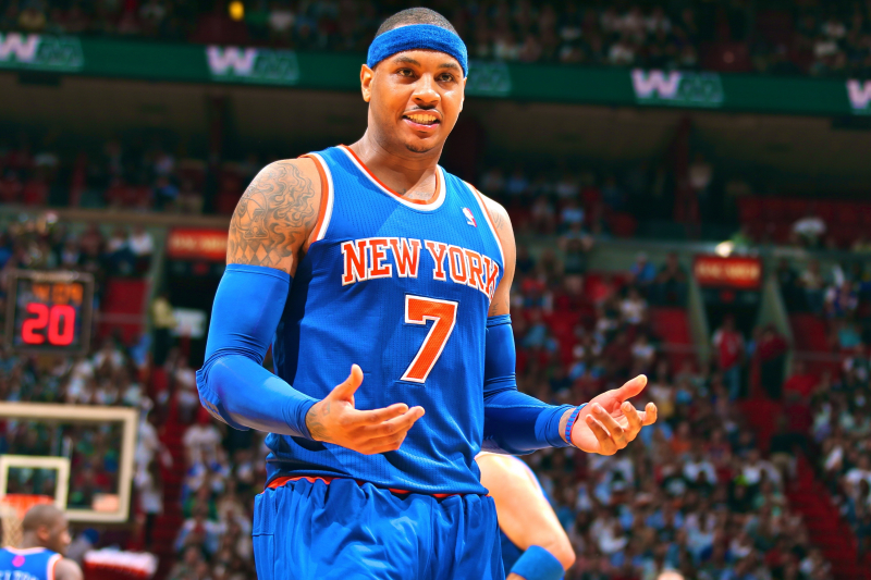 Why It's Officially Time to Stop Criticizing Carmelo Anthony
