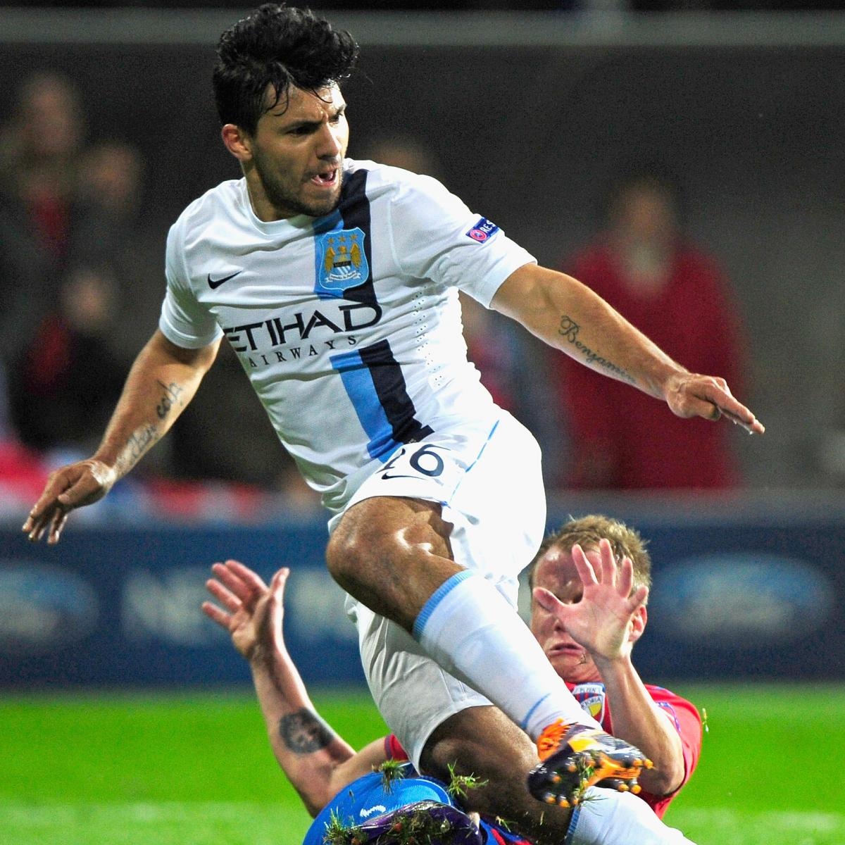 Psg Vs Manchester City Live Score Highlights From: CSKA Moscow Vs. Manchester City: Champions League Live