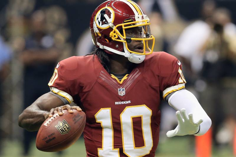 hot sale online 966d0 677d4 Robert Griffin III Jersey Is NFL's Best-Selling in Recorded ...
