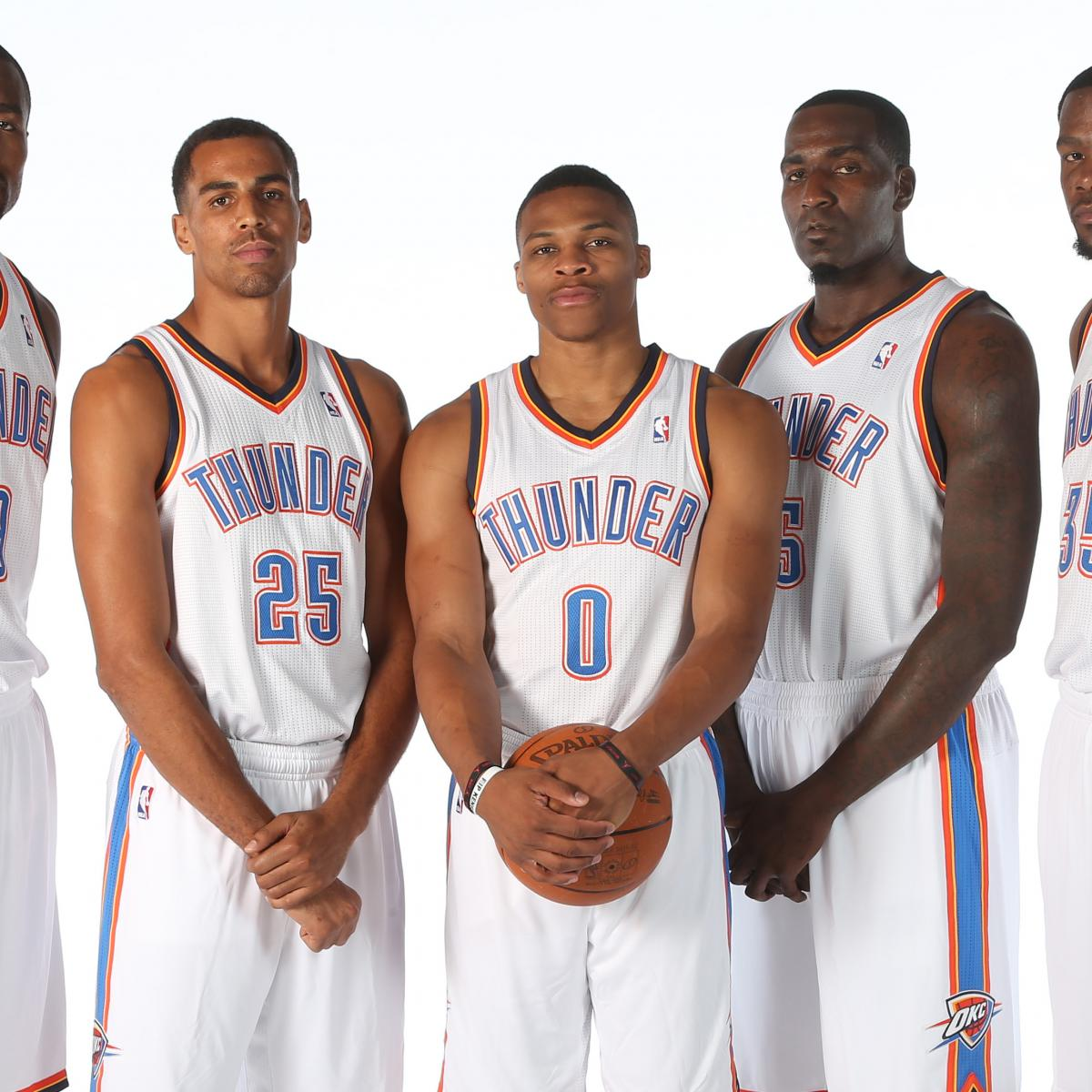 Okc Thunder Preview 2017 14 Starting Lineup Roster Predictions Team Ysis Bleacher Report Latest News Videos And Highlights