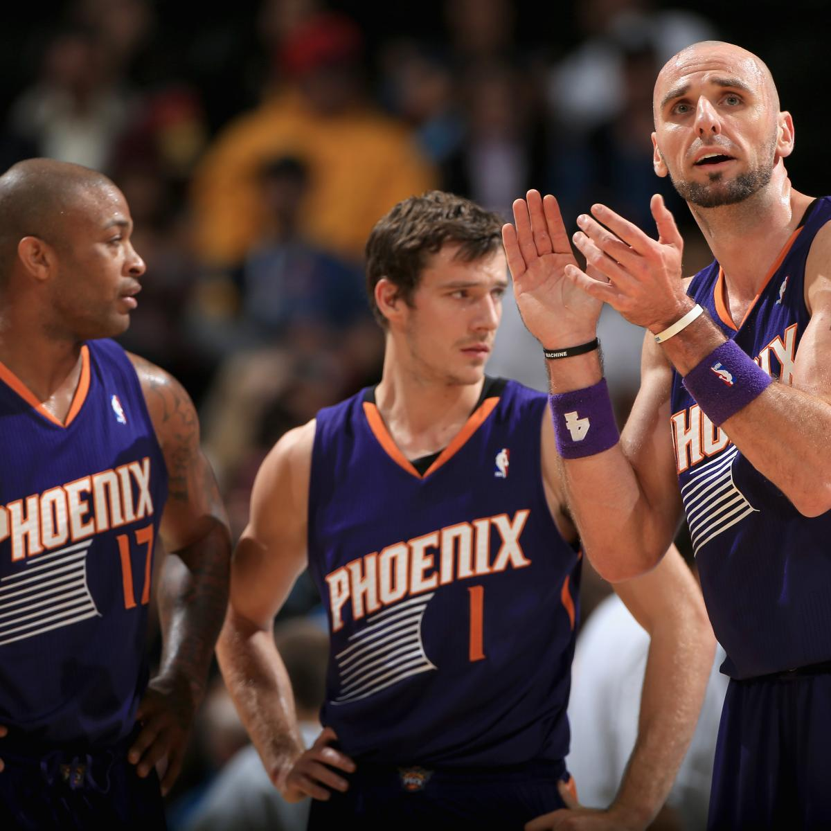 Phoenix Suns Preview 2017 14 Lineup Roster Predictions Team Ysis Bleacher Report Latest News Videos And Highlights