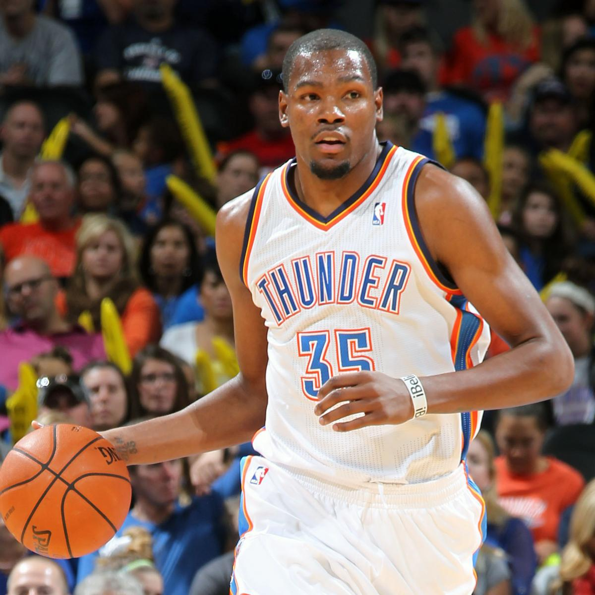 2e51e6b1e87d Would Kevin Durant Really Ever Leave the Oklahoma City Thunder ...