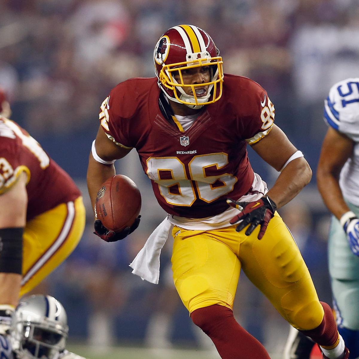 Why Jordan Reed Is a Must-Start Fantasy Tight End ...