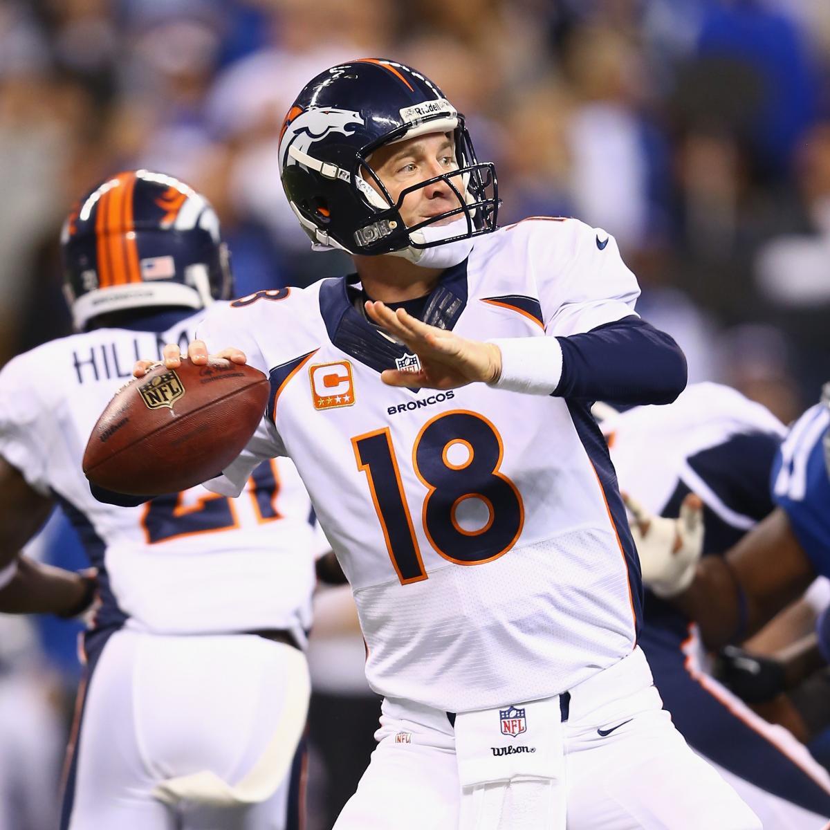 Peyton Manning S Ankle Injuries Won T Hurt Fantasy