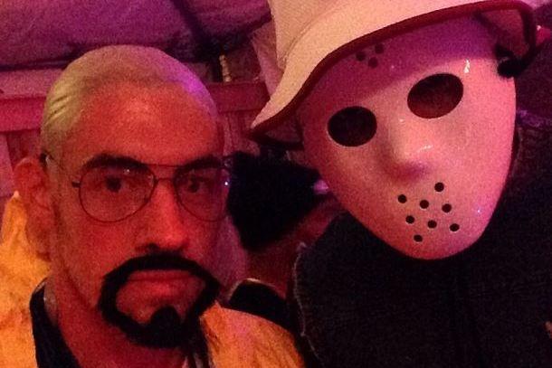 Oklahoma City Thunder Players Show off Halloween Costumes   Bleacher on