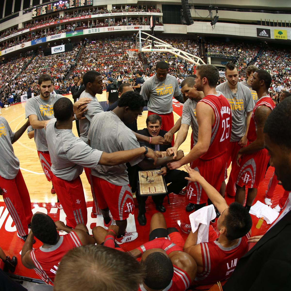 Houston Rockets Preview 2013-14: Starters, Roster