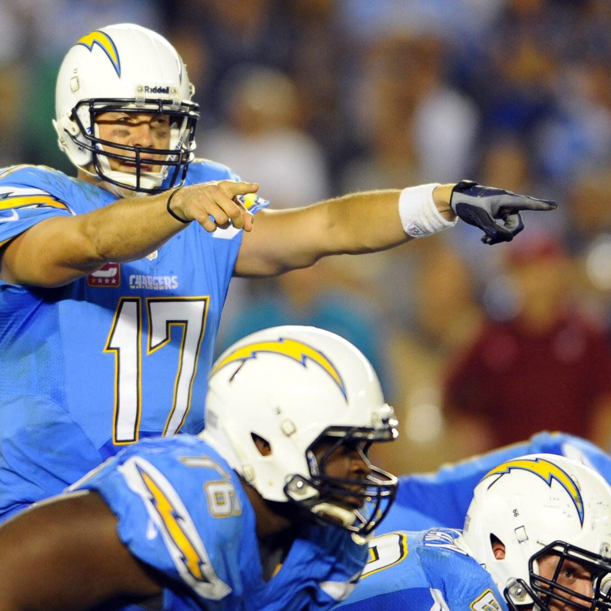 San Diego Chargers Bye Week: San Diego Chargers Positional Grades At Season's Midpoint