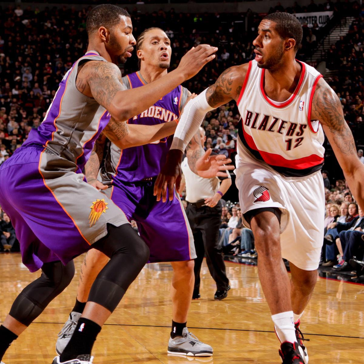 Portland Trail Blazers Vs. Phoenix Suns: Preview And