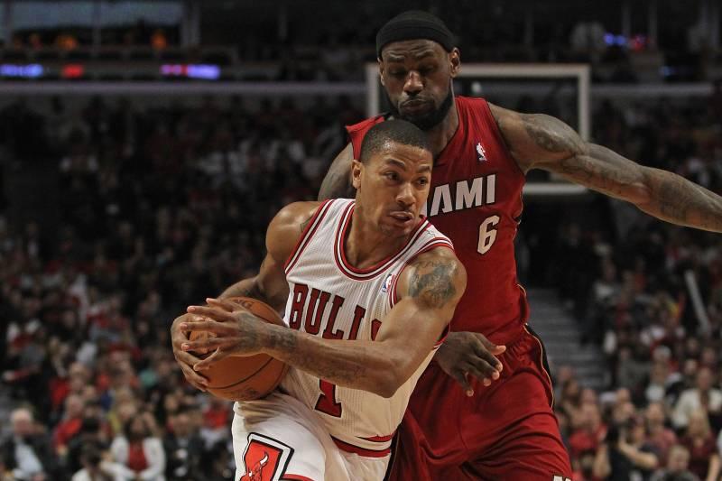 pretty nice 8c79e 10dec LeBron James on Heat-Bulls Rivalry: 'We Don't Like Them ...