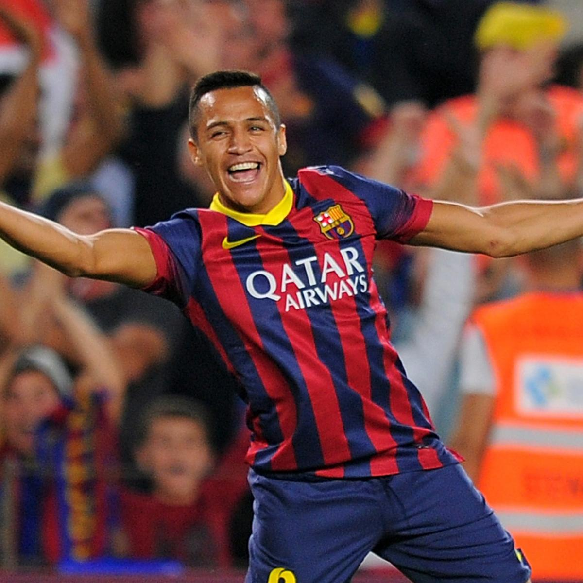 Barcelona Vs Celta Vigo Goals Today: GIF: Alexis Sanchez Opens Scoring For Barcelona Vs. Celta
