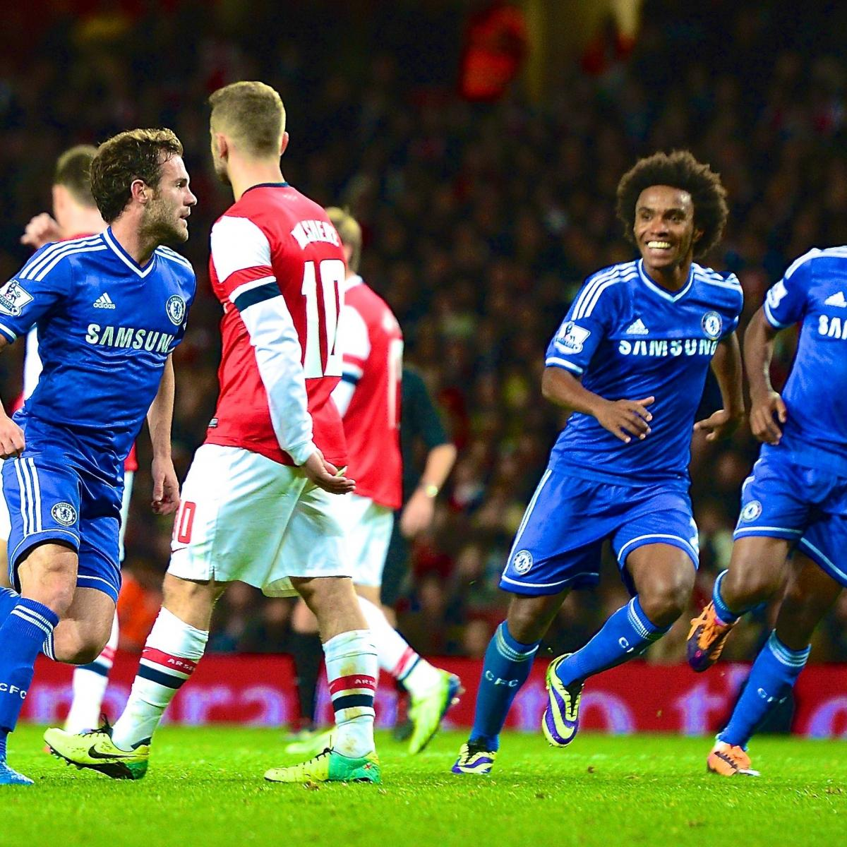 Capital One Cup Results: Analysis for Arsenal vs. Chelsea and All ...