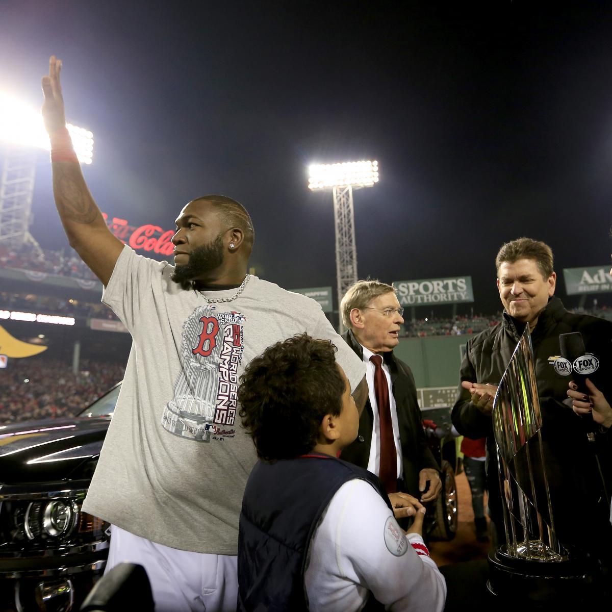 David Ortiz Named 2013 World Series MVP | Bleacher Report | Latest