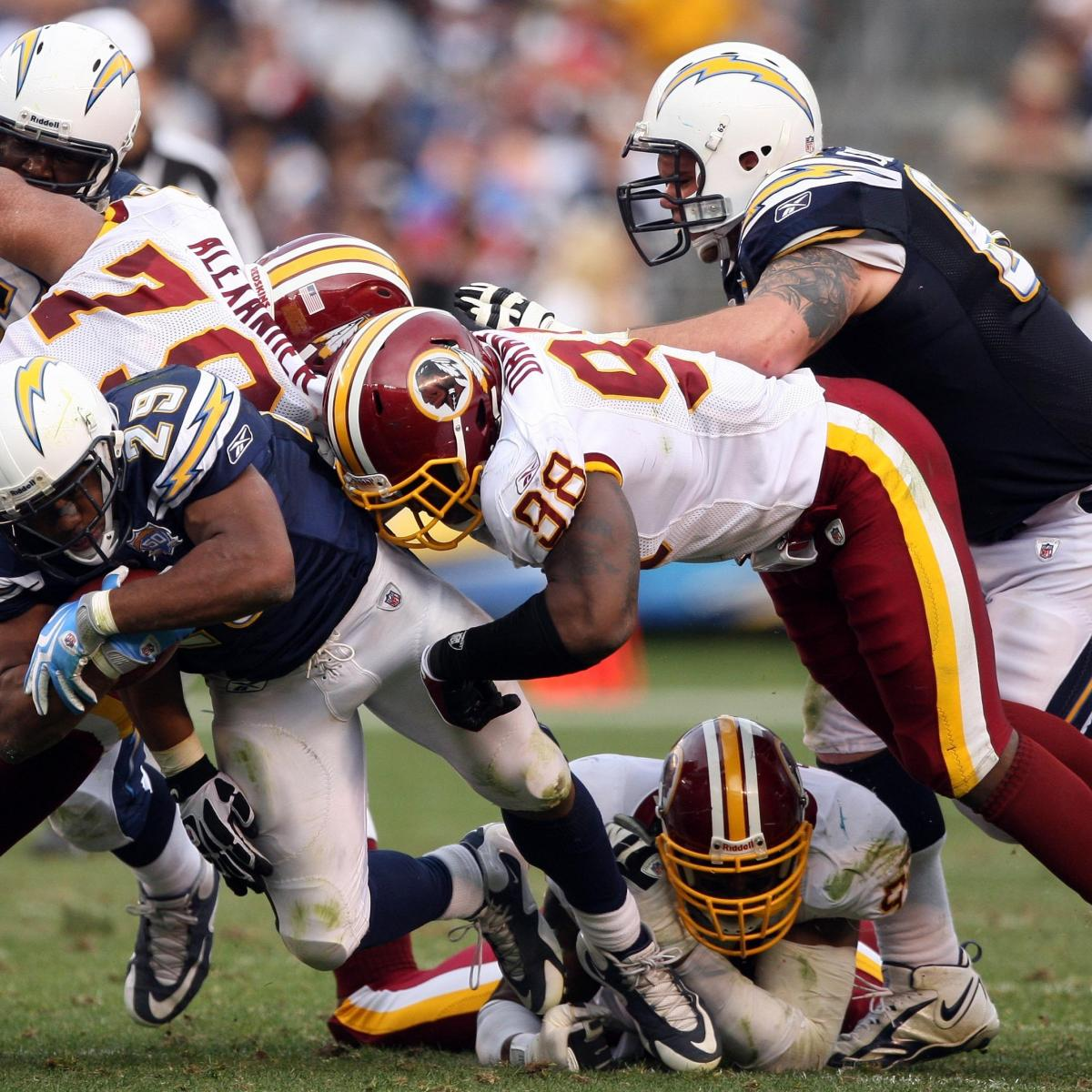 San Diego Chargers Coaches: San Diego Chargers Vs. Washington Redskins: Breaking Down
