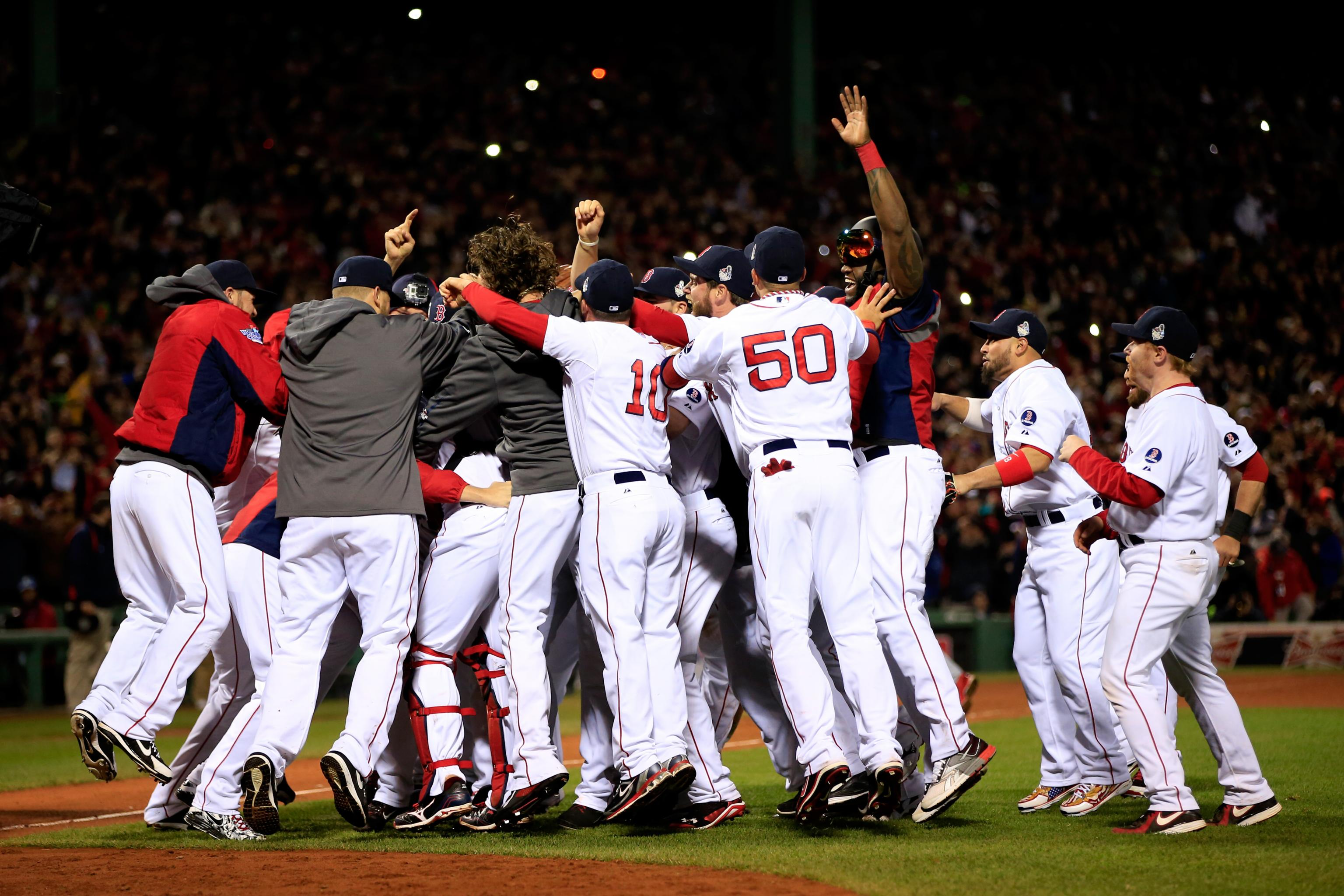 hi res 186398381 the boston red sox celebrate after defeating the st crop north