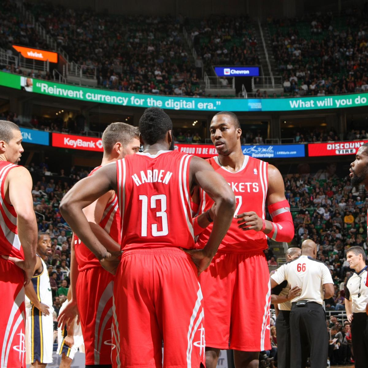 Houston Rockets Game Log: Initial Report Card Grades For Every Houston Rockets