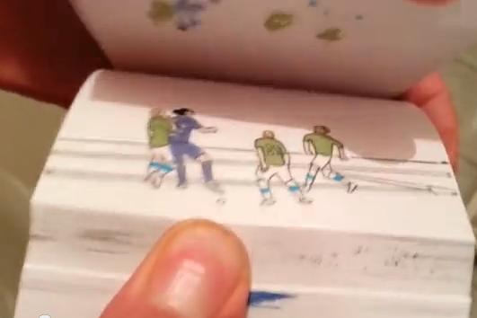Artist Creates Flipbook of Zlatan Ibrahimovic's Amazing Backheel Goal