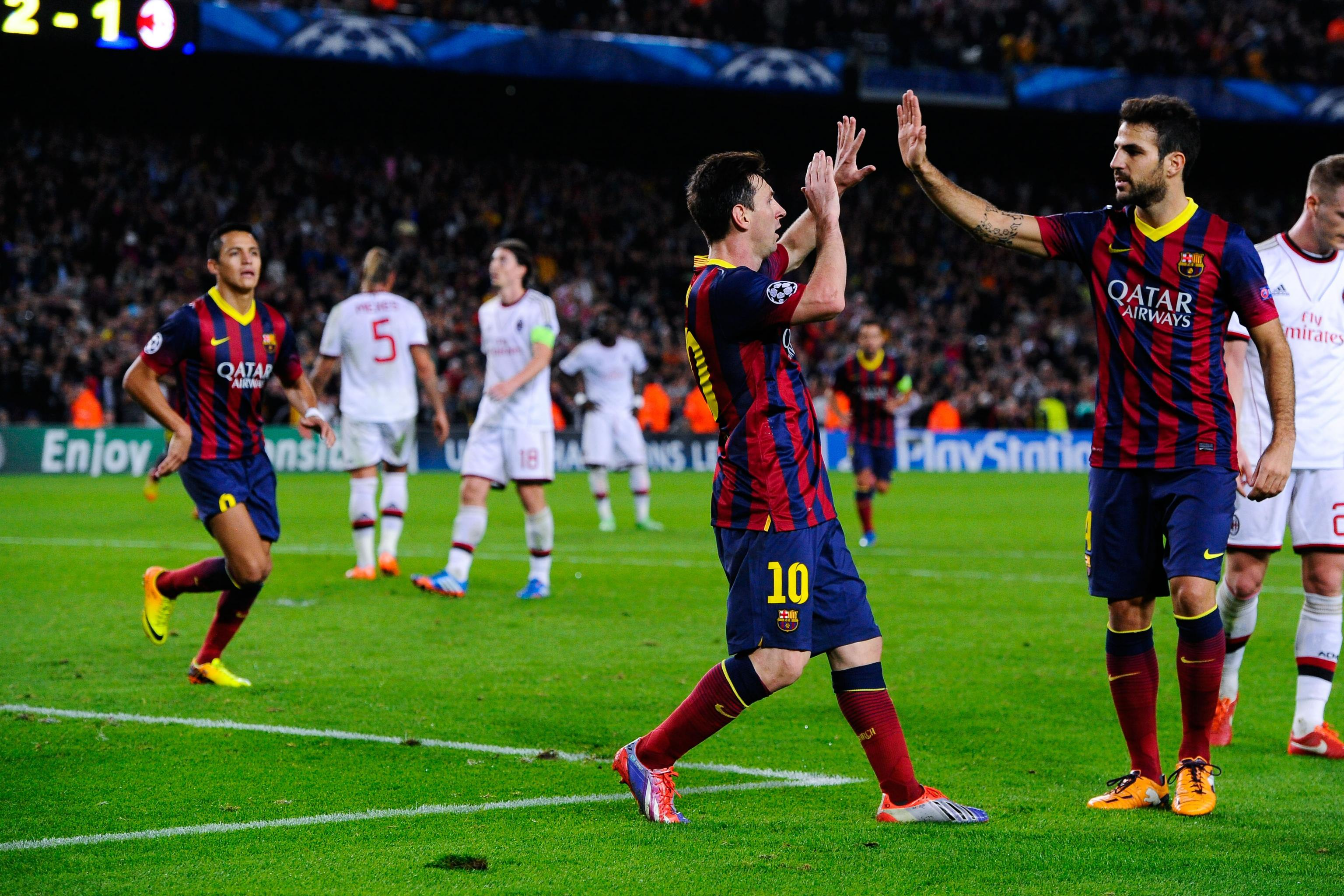 Barcelona Vs Ac Milan Live Player Ratings For Barca Bleacher Report Latest News Videos And Highlights