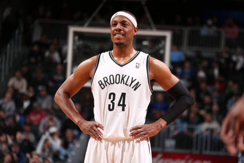 new products 1c740 cf5ed How Has Paul Pierce's Role Changed with Brooklyn Nets ...