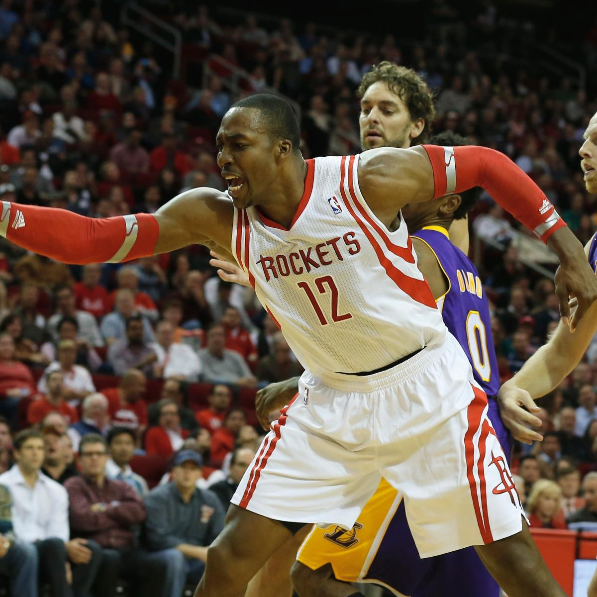 Houston Rockets 3rd Quarter Stats: Dwight Howard's Aggressiveness Not Enough In Loss To
