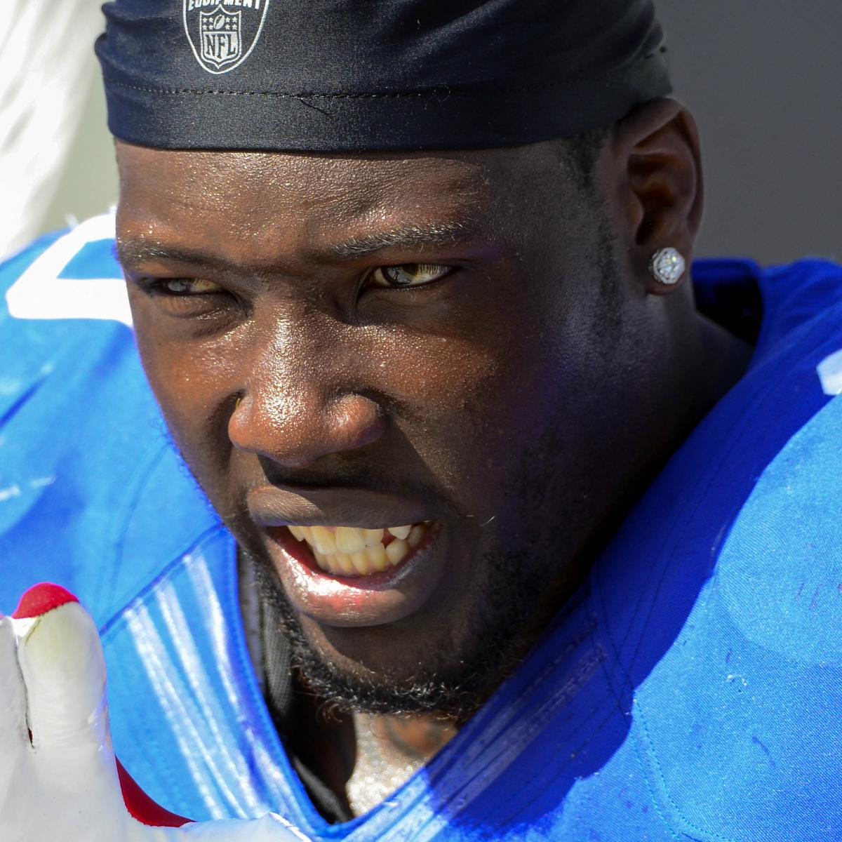 Jason Pierre-Paul Provides Delayed Blitz Of Bulletin-Board