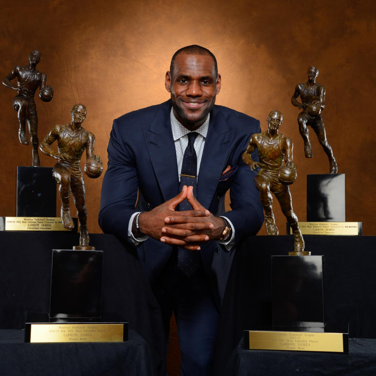 Ranking the 10 Best MVP Seasons in NBA History | Bleacher Report | Latest  News, Videos and Highlights