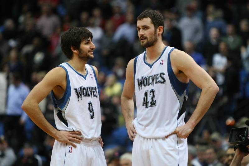 low priced 7fa79 12c5a Is Ricky Rubio and Kevin Love the NBA's Next Great Duo ...