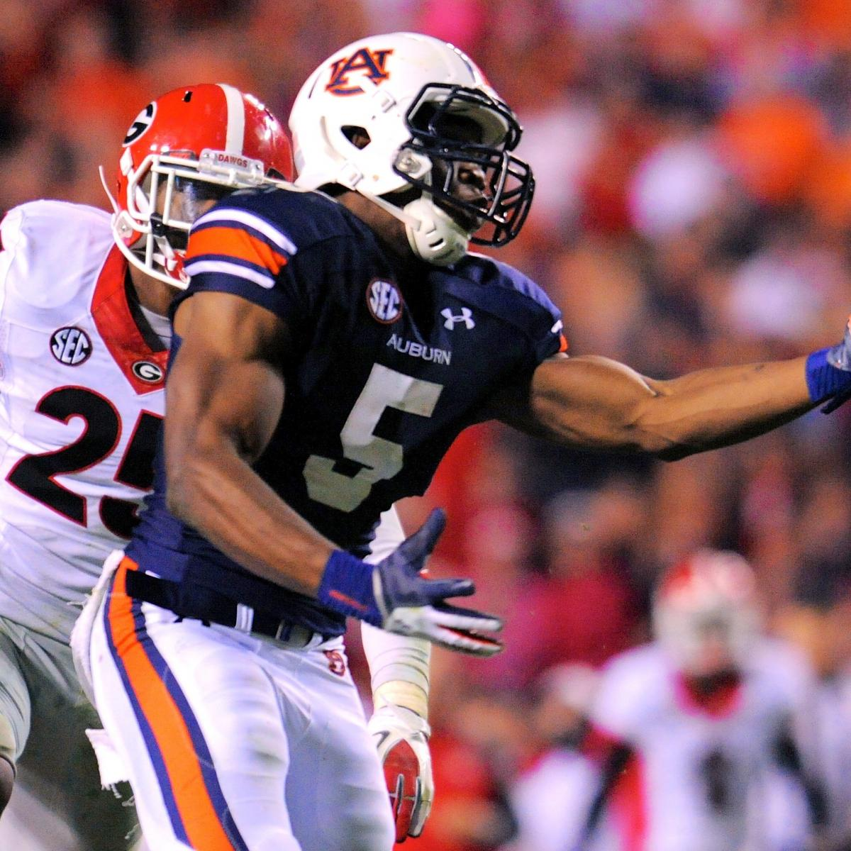 Georgia vs. Auburn: Score, Grades and Analysis   Bleacher ...