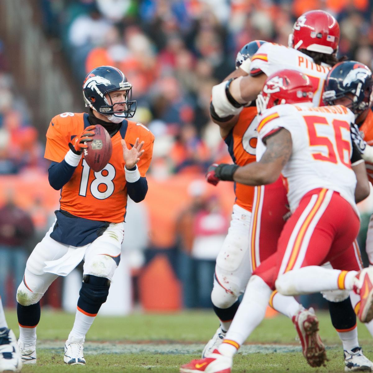 Kansas City Chiefs Vs. Denver Broncos: Live Score