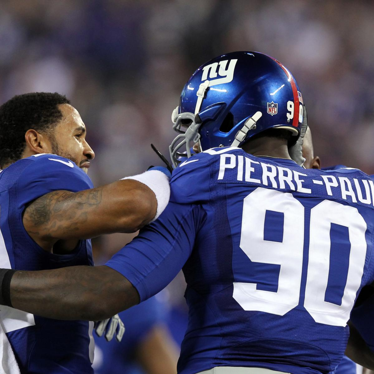 Jason Pierre Paul Stats News Videos Highlights: Dallas Vs. NY Giants: Full Roster Report Card Grades For