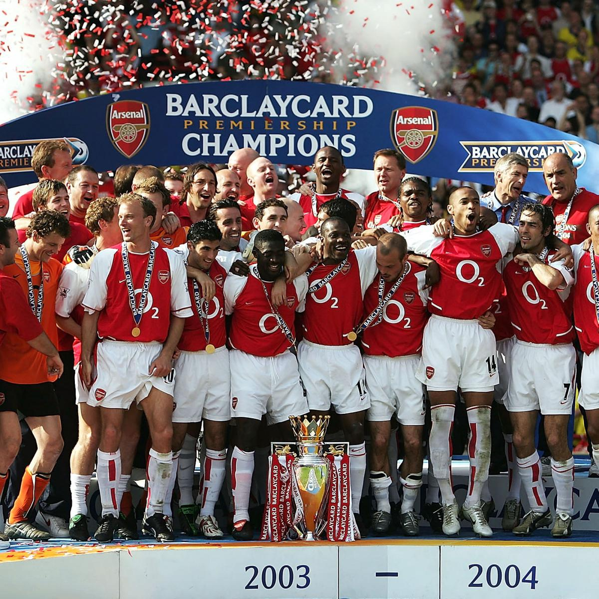 Arsenal S Invincibles Where Are They Now Bleacher Report Latest News Videos And Highlights