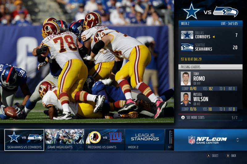 4092622ec6 Xbox One's NFL and ESPN Integration Makes It More Than Just a Gaming ...