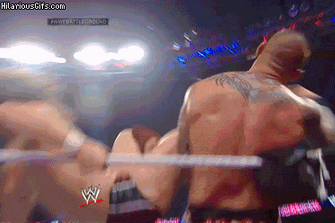 Perfectly Looping GIF Has Daniel Bryan Kicking Randy Orton