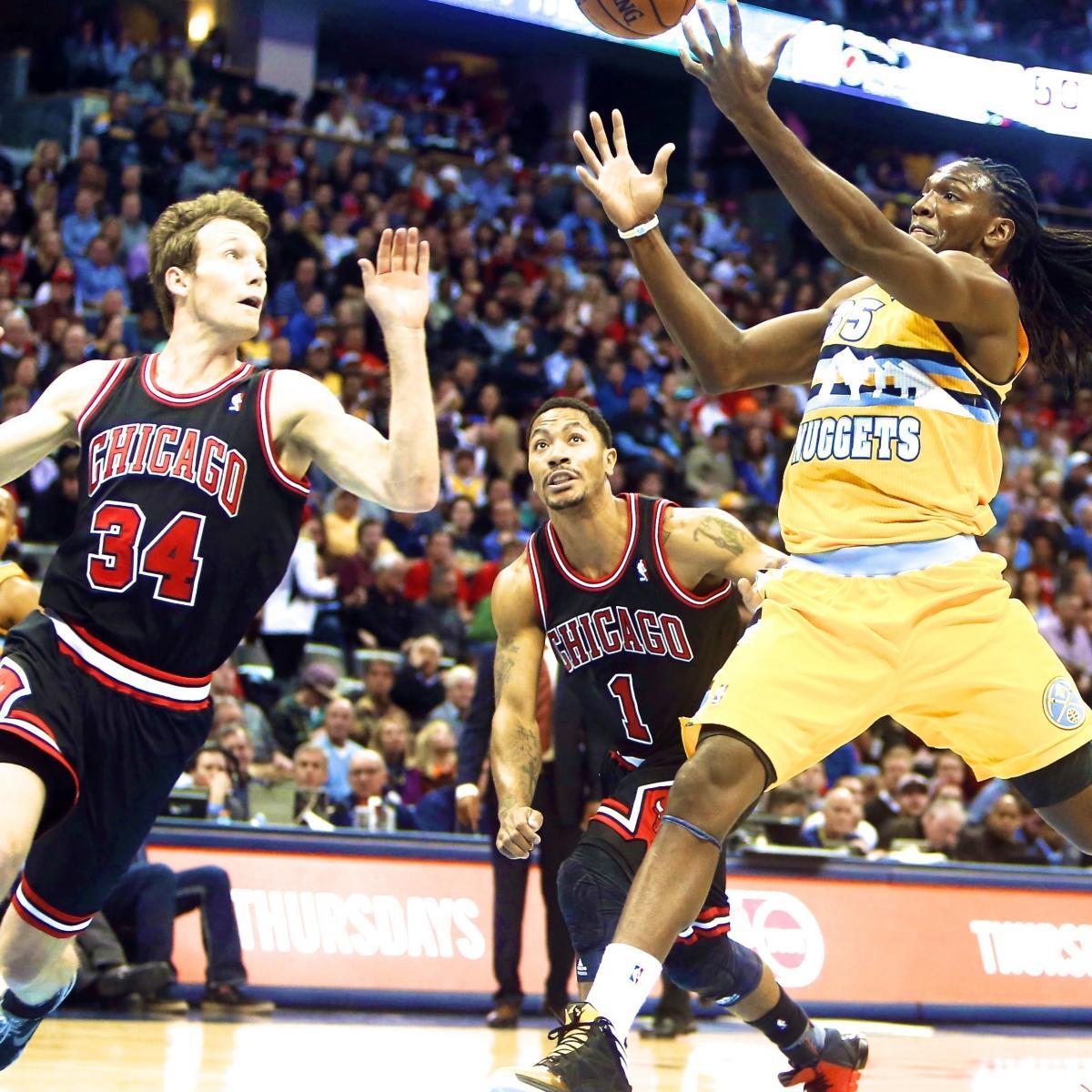 Nuggets Quarter Season Tickets: Chicago Bulls Vs. Denver Nuggets: Live Score And Analysis