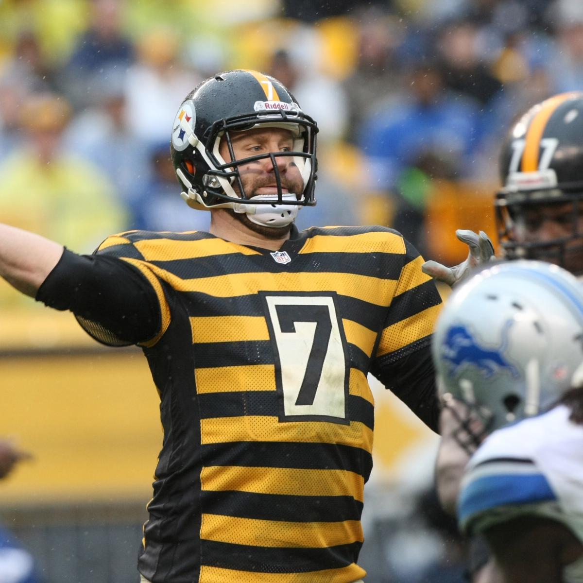 80ad8f8ae96 Pittsburgh Steelers  Ben Roethlisberger s Top 10 Fourth-Quarter Comebacks