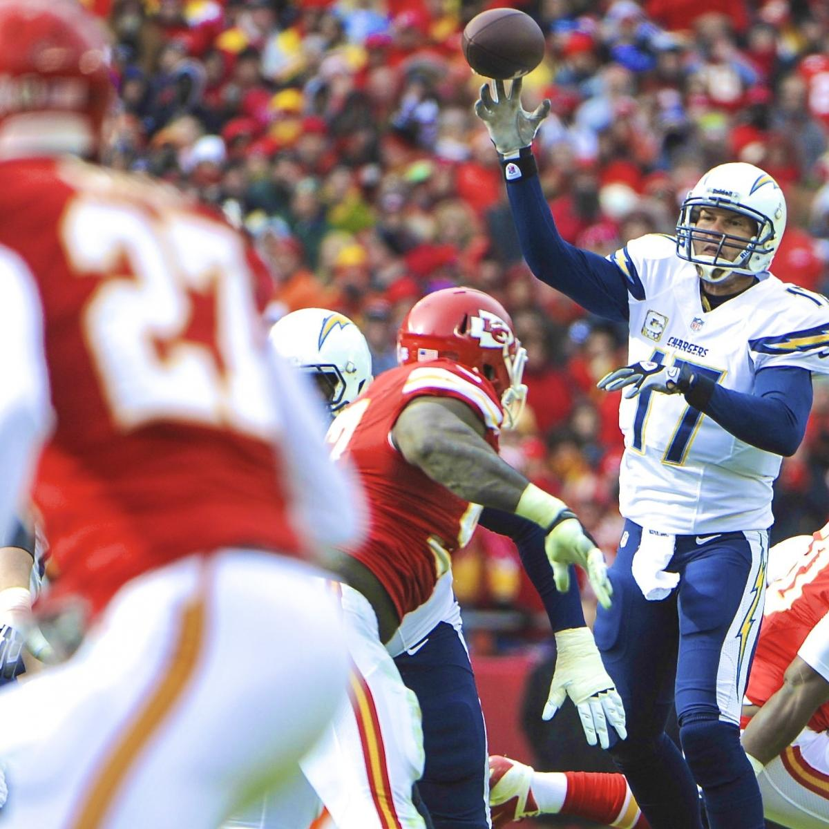 San Diego Chargers Current Score: San Diego Chargers Vs. Kansas City Chiefs: Live Score