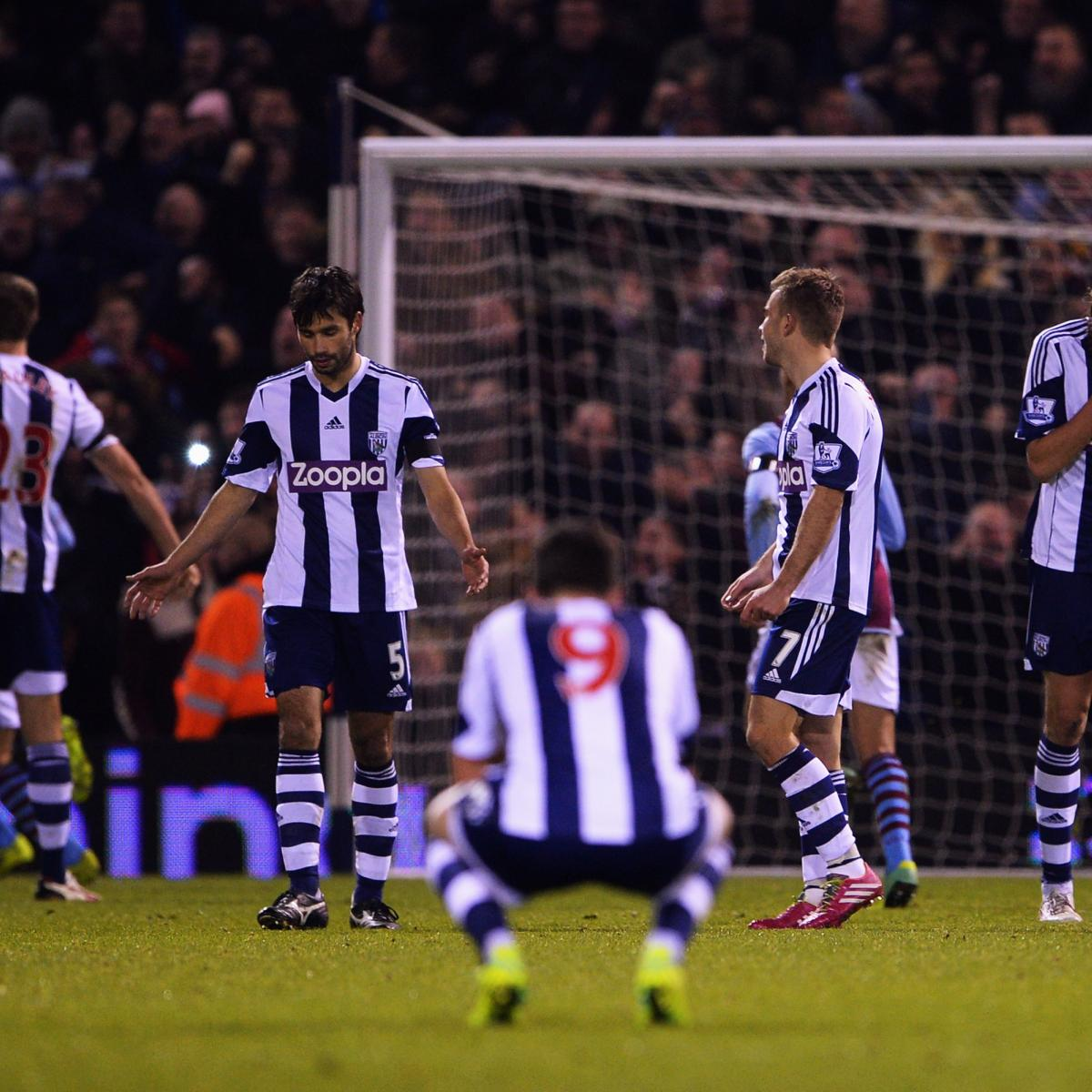 Premier League Six Things We Learned From The Weekend S: West Brom Vs. Aston Villa: 6 Things We Learned