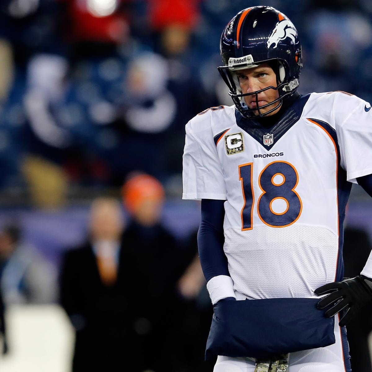 Denver Broncos  Should Fans Be Worried About Peyton Manning and Cold  Weather   53c162a30
