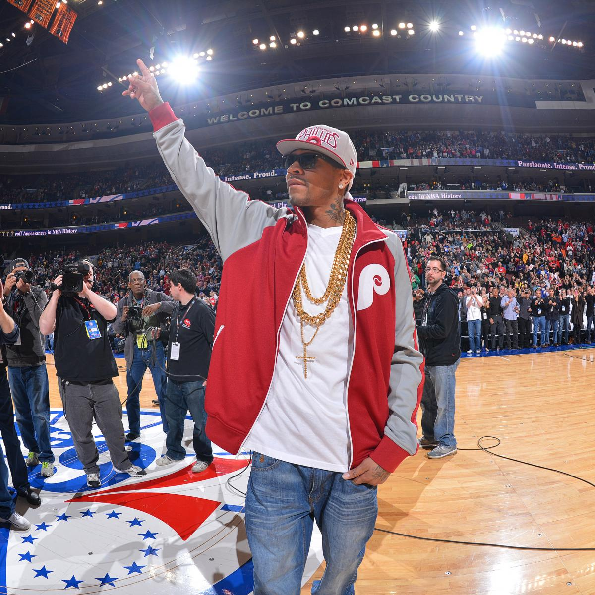 Philadelphia 76ers Announce Plans To Retire Allen Iverson