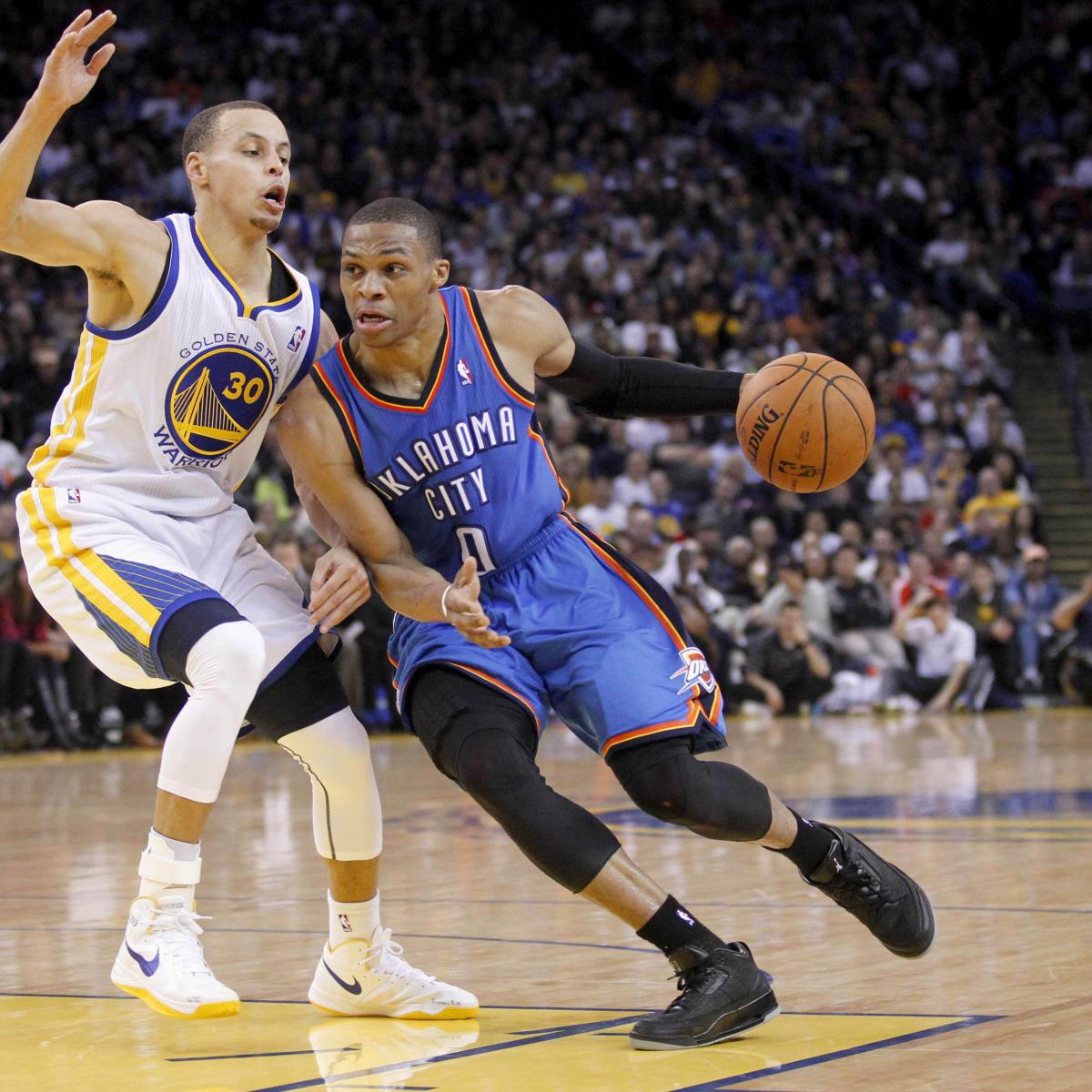 d8060fe3fe3a Definitive Guide to Warriors vs. Thunder and Friday s Top NBA Games ...