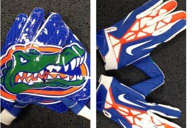 pretty nice 61503 3ec3d ... gator football gloves nike