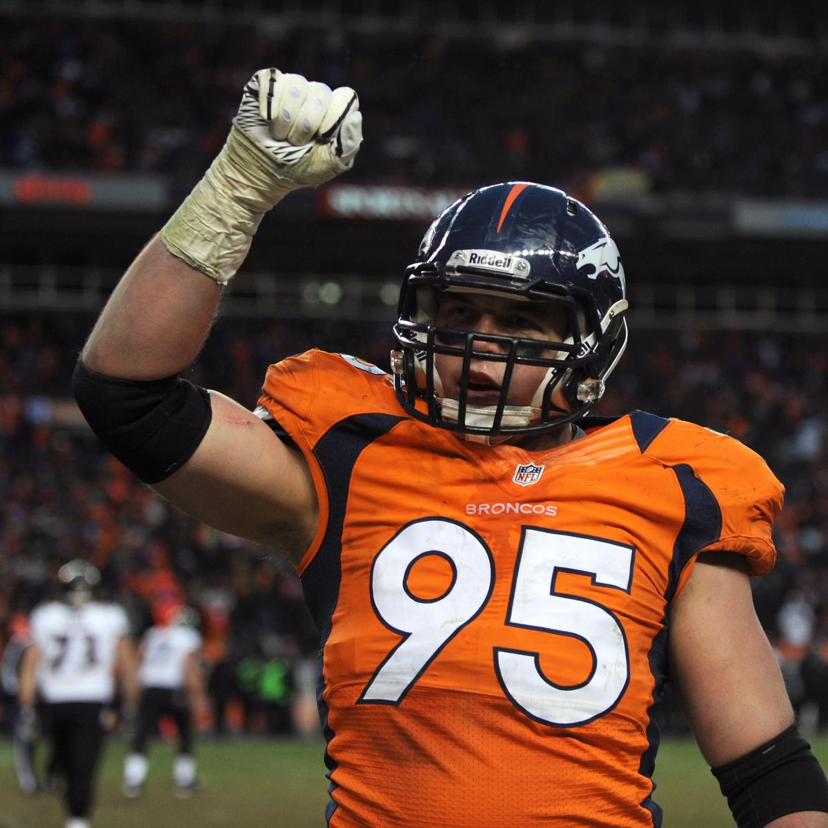 Updates On Broncos DE Derek Wolfe After Suffering Seizure