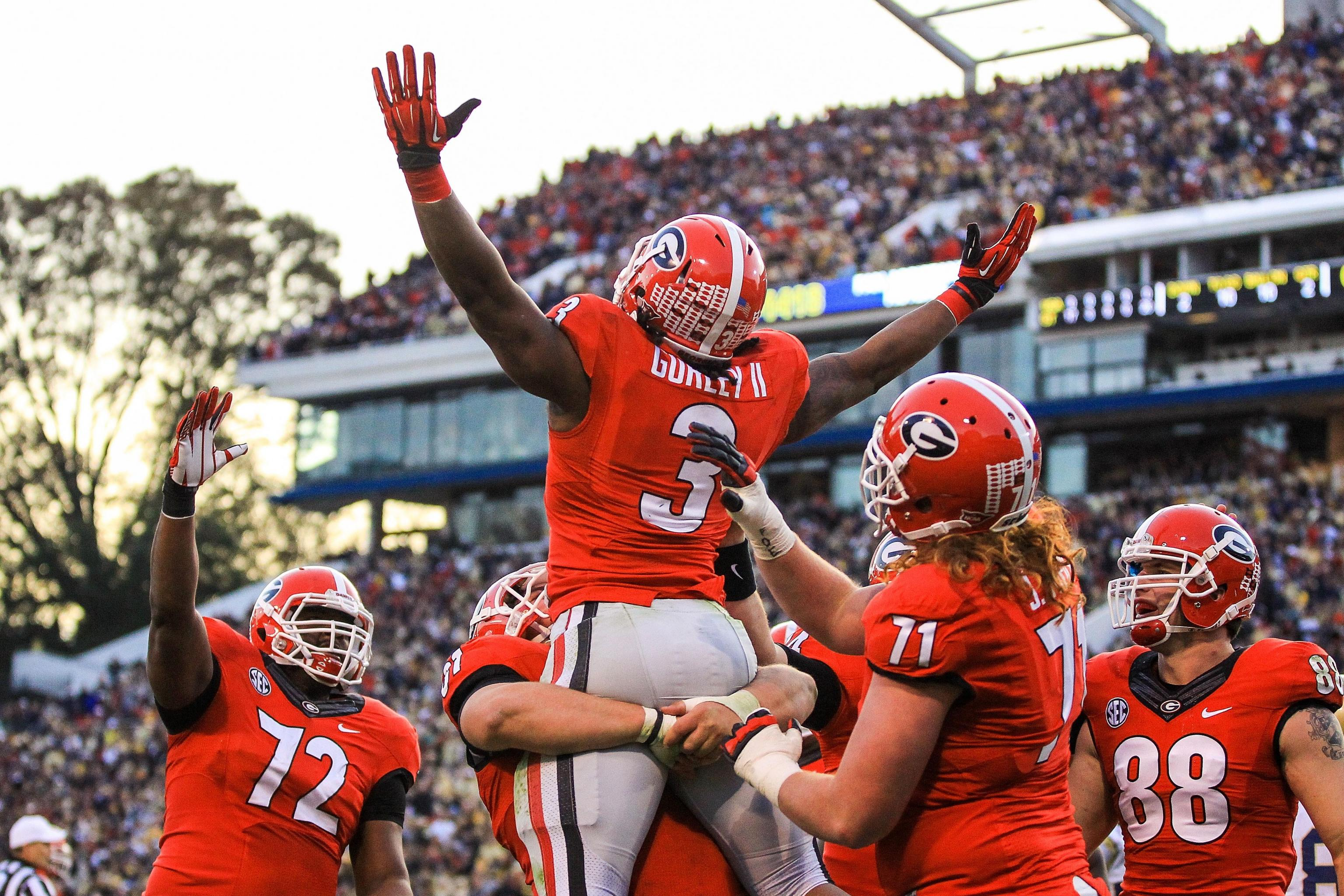 Georgia Vs Georgia Tech Score Grades And Analysis For Rivalry Game Bleacher Report Latest News Videos And Highlights