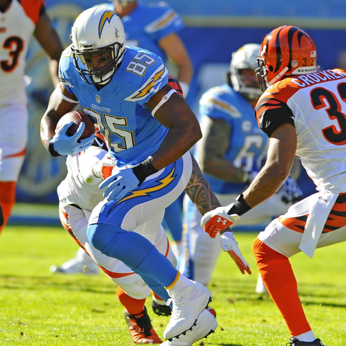 San Diego Chargers Cincinnati Bengals: Bengals Vs. Chargers: Takeaways From San Diego's 17-10