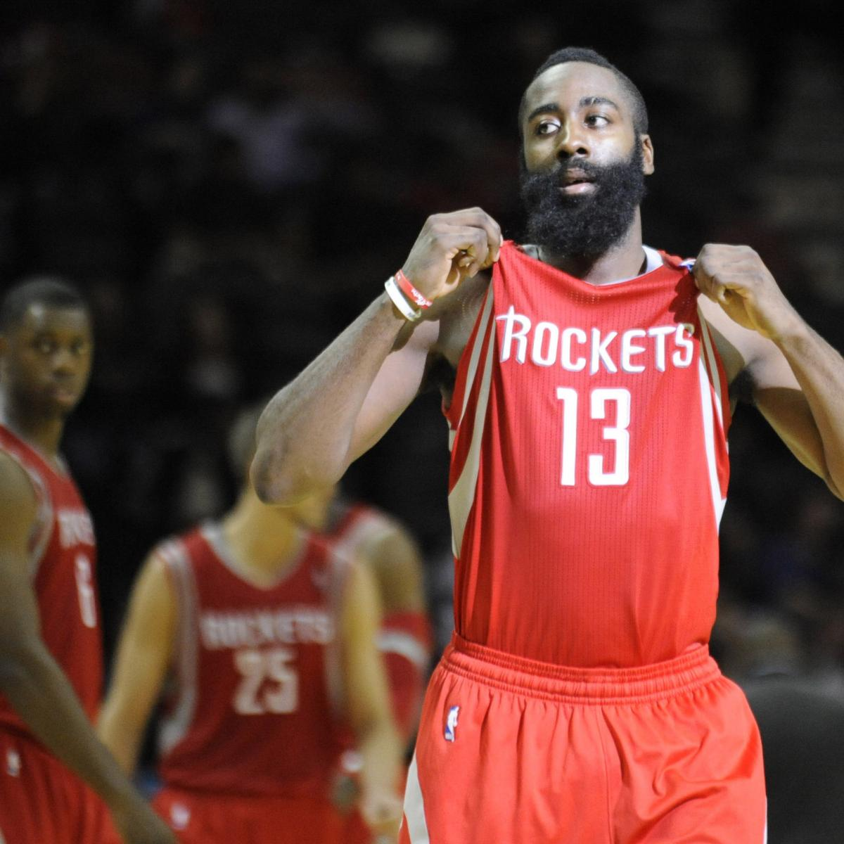 James Harden Injury Report: Houston Rockets Power Rankings: Rating Every Player After
