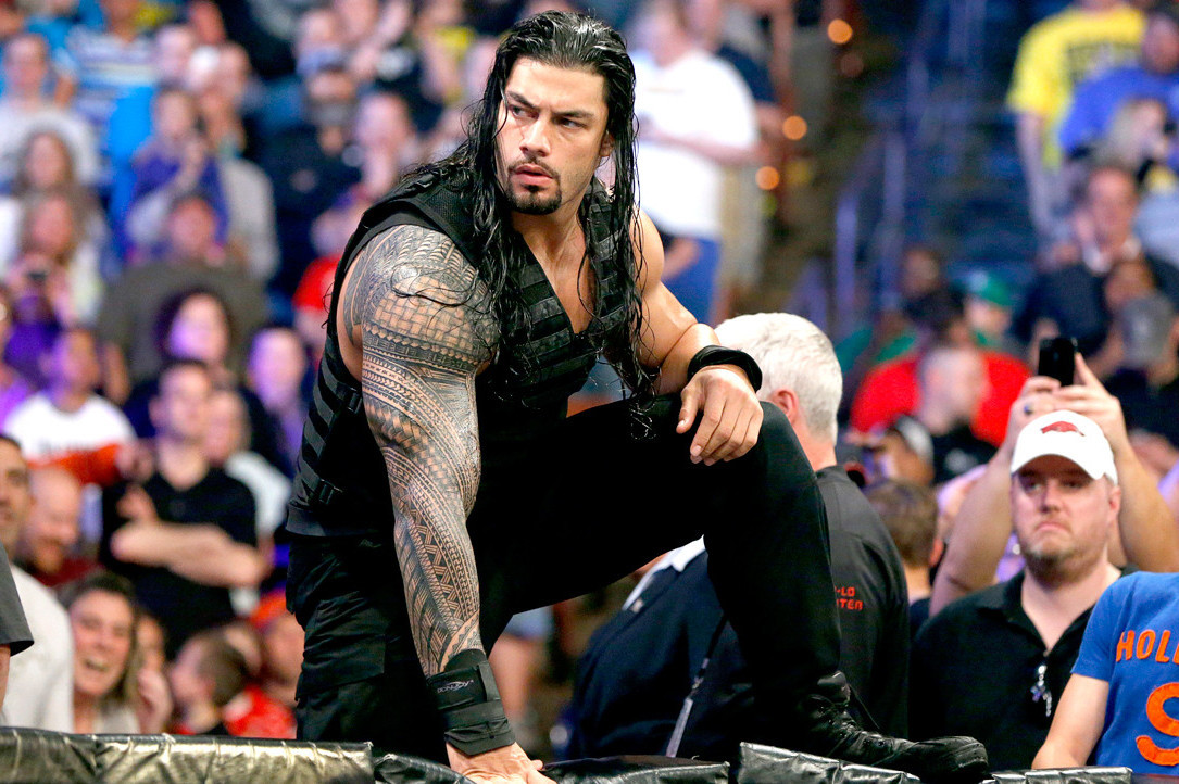 breaking down why roman reigns spear is such an effective finishing