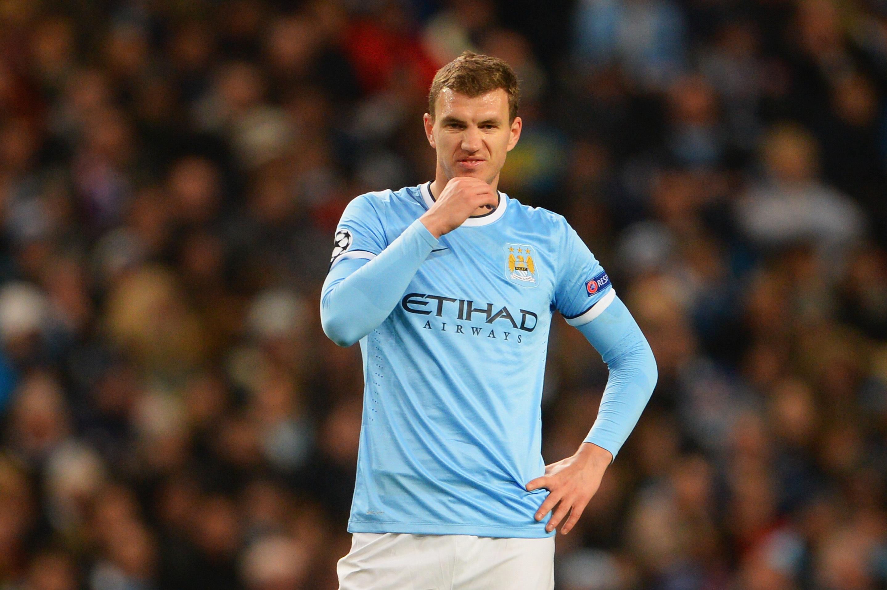 Edin Dzeko Transfer Ruled out by Manchester City Amid Arsenal Talk ...