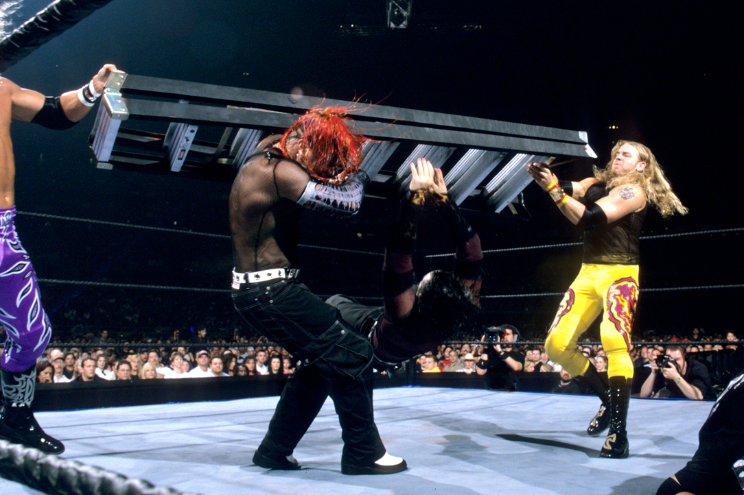 WWE Classic of the Week: Remembering TLC 2 from WrestleMania X-Seven | Bleacher Report | Latest News, Videos and Highlights