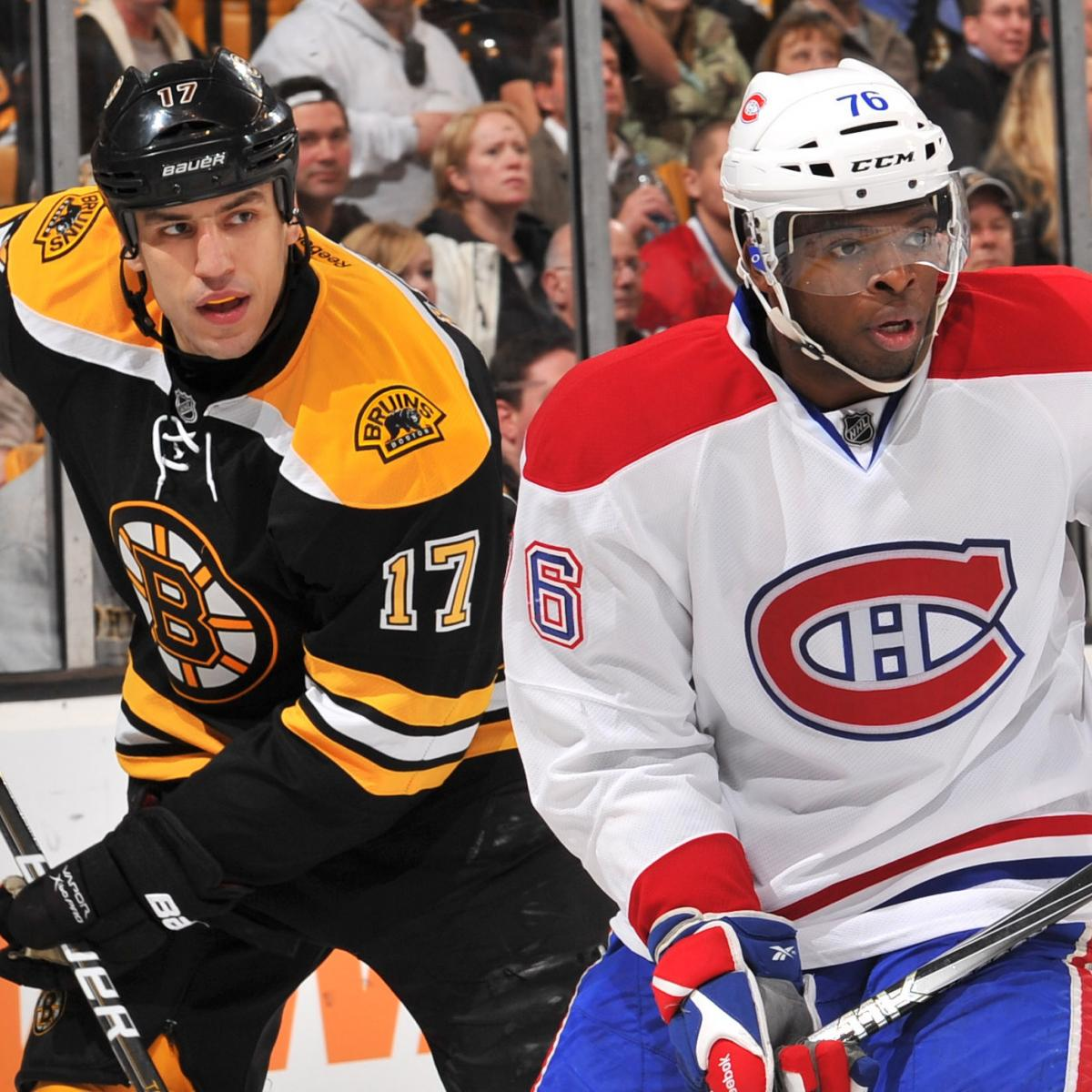 Is the Boston Bruins-Montreal Canadiens Rivalry as ...Bruins Bleacher Report