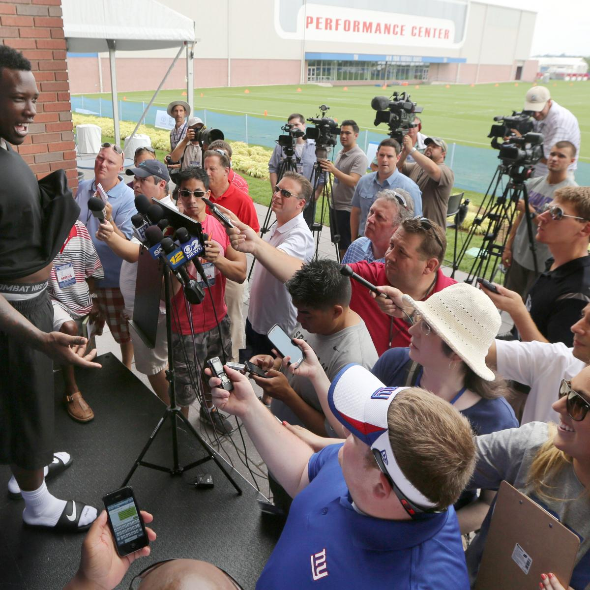 New York Giants: All Talk And No Play Makes Jason Pierre